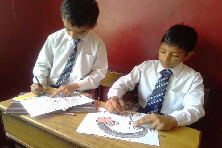 Mount Shivalik Public School-Drawing