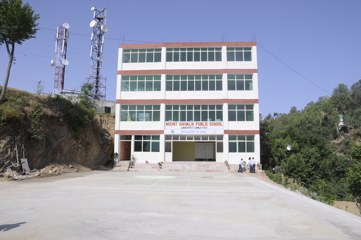 Mount Shivalik Public School-School Building