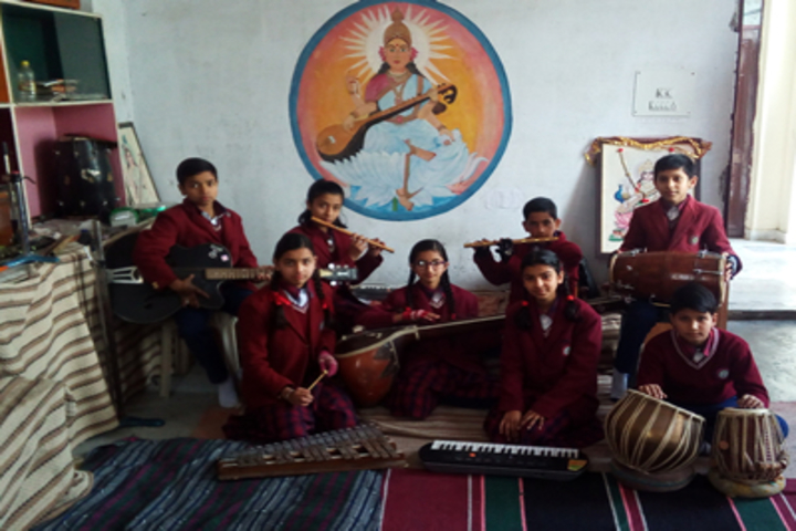 Neugal Public Senior Secondary School-Music Class