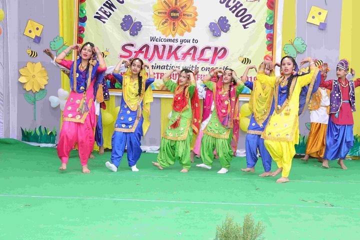 New Gyan Dham Public School-Dance