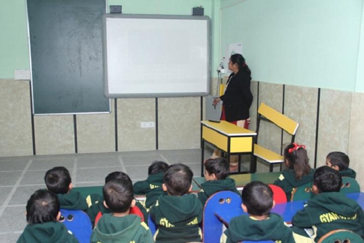 New Gyan Dham Public School-Smart-Classroom