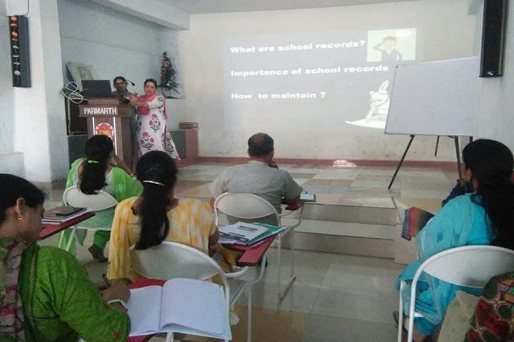 Paras Public School-Seminar