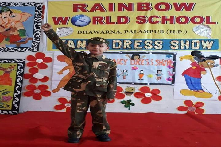 Rainbow World School-Fancy Dress Competition