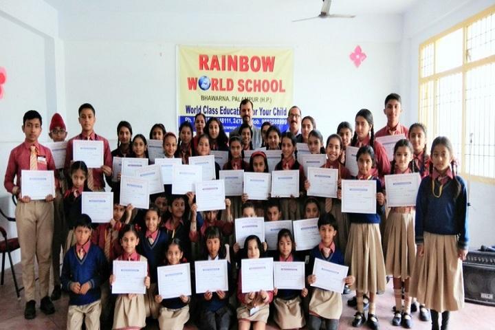 Rainbow World School-Declamation Competition