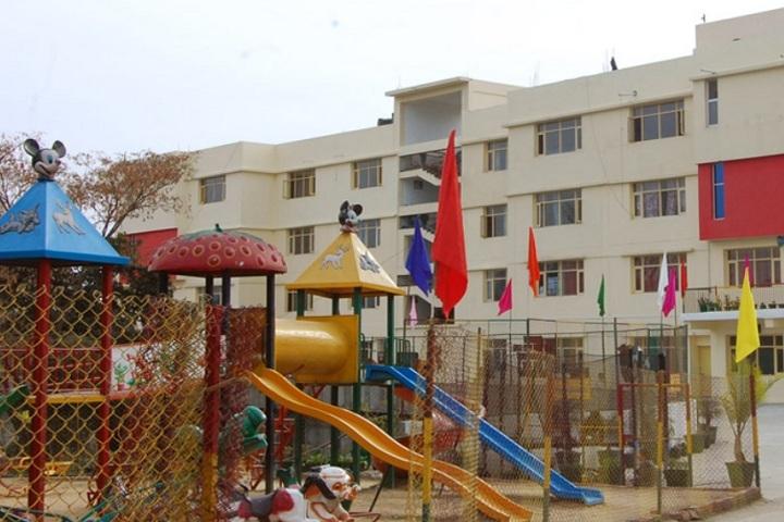 Rainbow World School-Playing Area