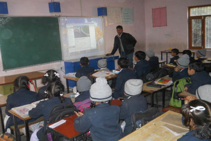 Ramanujam Royal Convent School-Digital Classroom