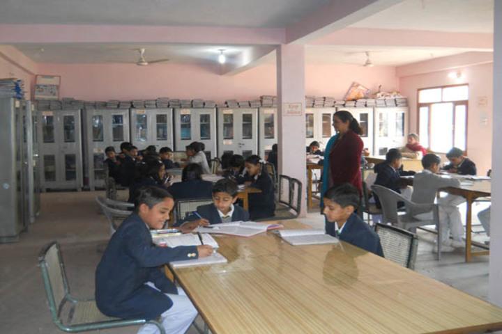 Ramanujam Royal Convent School-Library