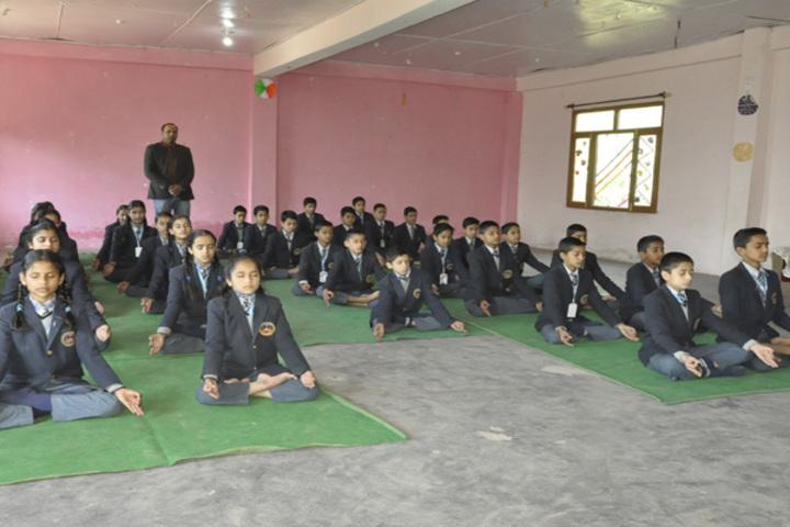 Ramanujam Royal Convent School-Yoga