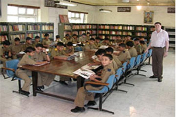 Sainik School-Library