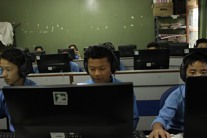 Sambhota Tibetan School-IT Lab