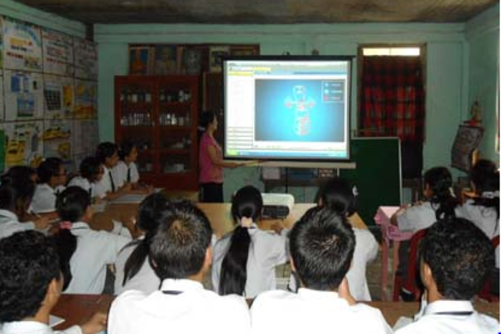 Roopland Public School-Smart classroom