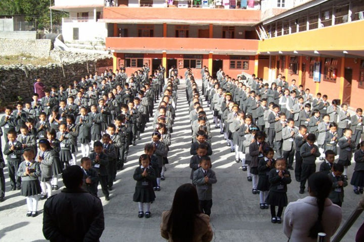 Roopland Public School-Morning assembly