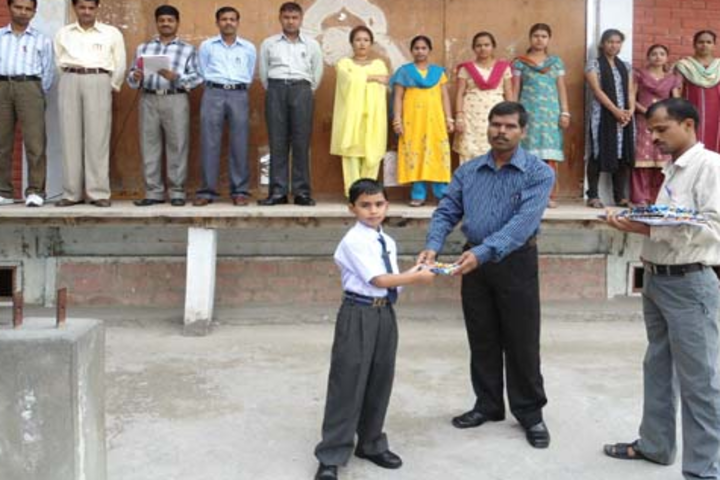 Roopland Public School-Prize distributing