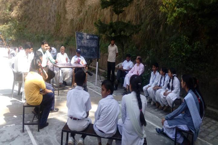 Saraswati Vidya Mandir High School-Quiz Competition