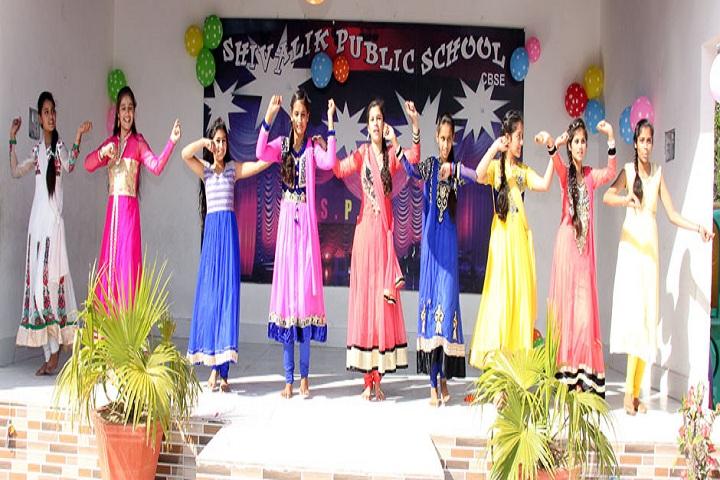 Shivalik Public School-Dancing Activity