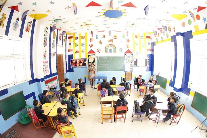 Tagore Vanasthali Public School-Classroom