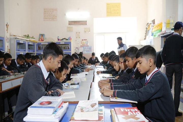 Tagore Vanasthali Public School-Library