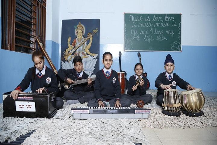 Tagore Vanasthali Public School-Music
