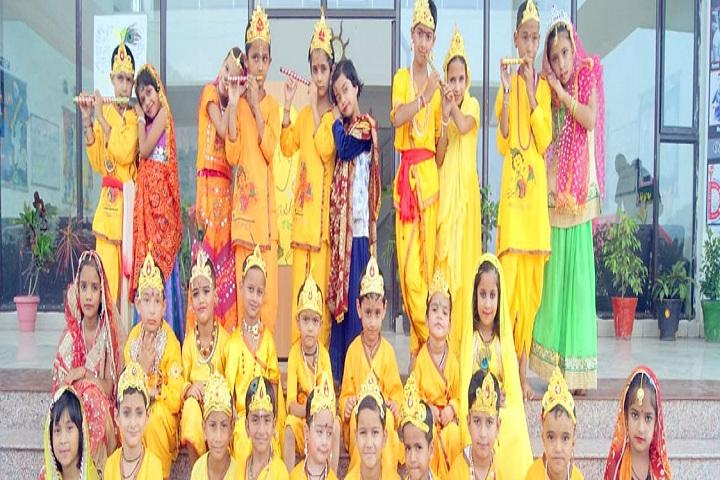 The Divine International School-Events janmashtami