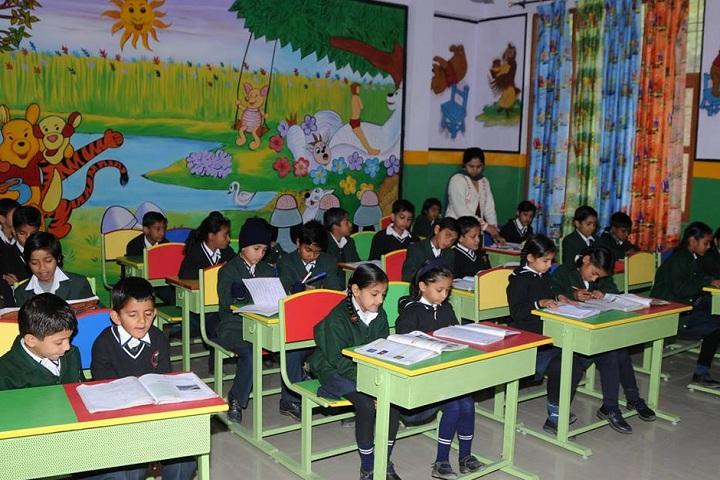The Gurukul International School-Classroom view