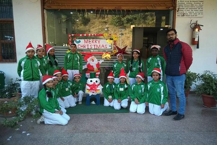The Gurukul International School-Events christmas