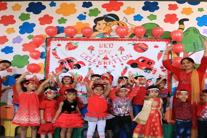 The Gurukul International School-Events red day