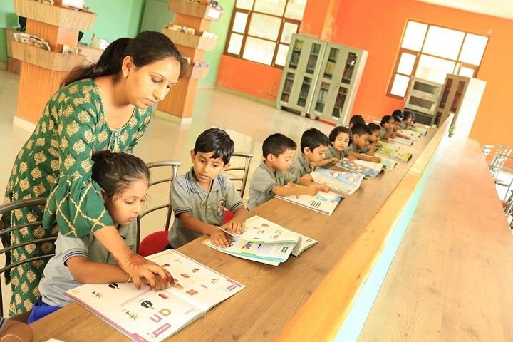 The Gurukul International School-Library