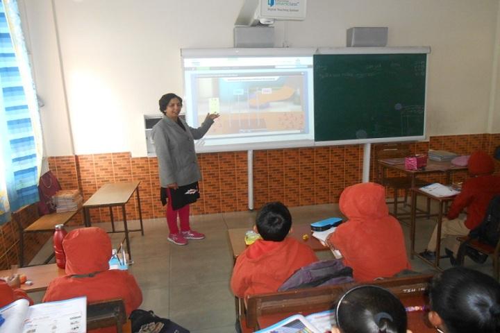 The ScholarS Home Paonta Sahib-Classroom