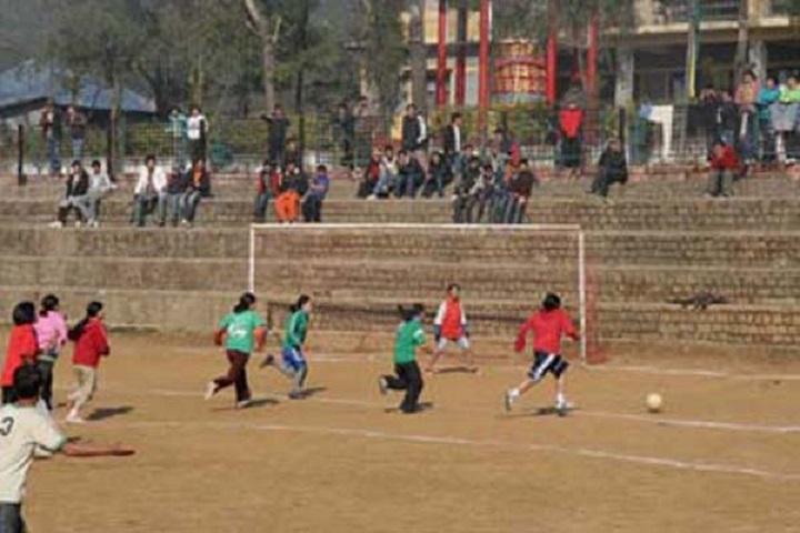 Tibetan ChildrenS Village Senior Secondary School-Play Ground