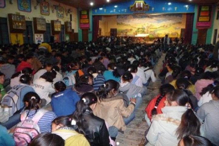 Tibetan ChildrenS Village Senior Secondary School-Auditorium