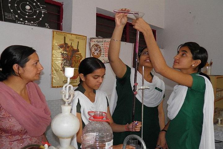 V R Public School-Laboratory chemistry