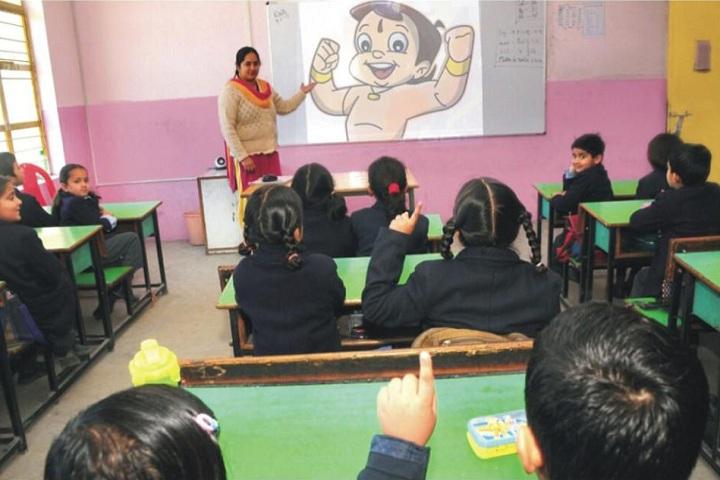 Vashist Public School-Classroom