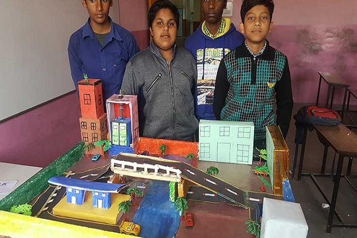Vashist Public School-Science Exhibition