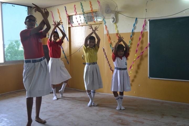 Vivek International Public School-Dance-room