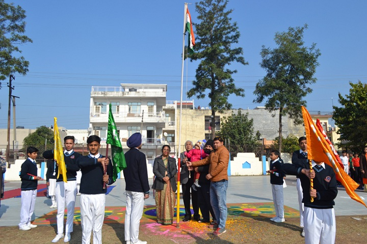 Vivek International Public School-Independance day