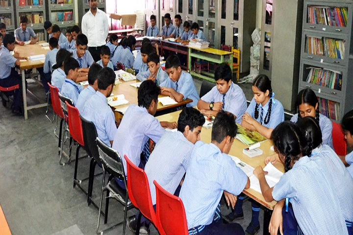Vivek International Public School-Library