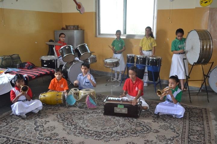 Vivek International Public School-Music-Room