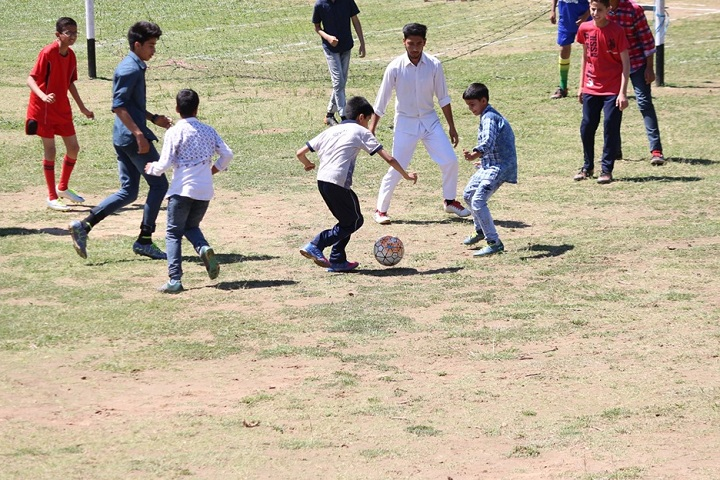 Army Goodwill Public School-Sports Football
