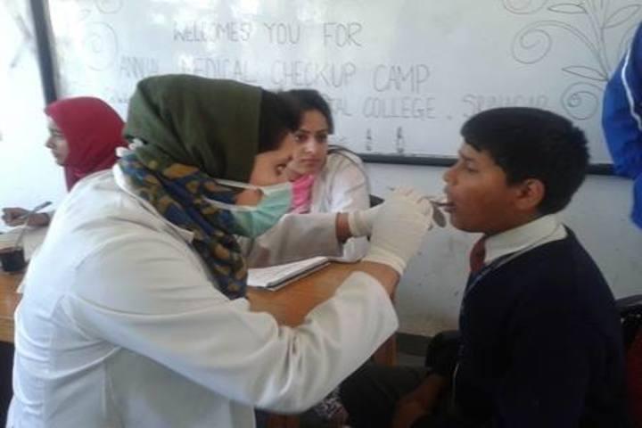 Army Goodwill Public School Pahalgam-Health Check up