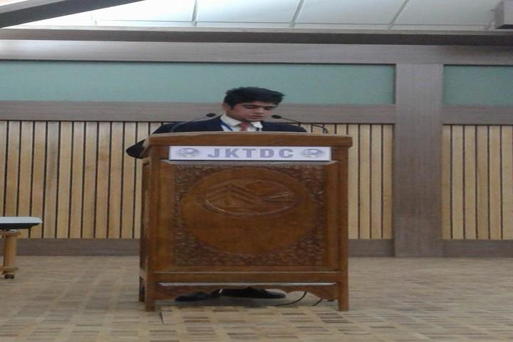Army Goodwill Public School Pahalgam-Speech