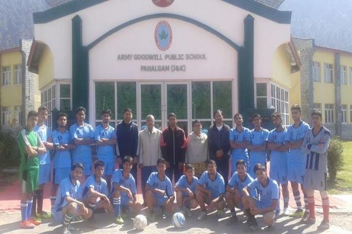 Army Goodwill Public School Pahalgam-Sports