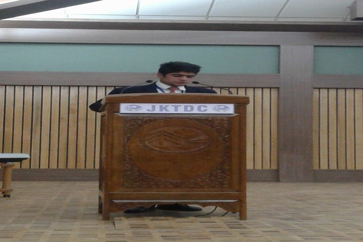 Army Goodwill Public School Pahalgam-Speech