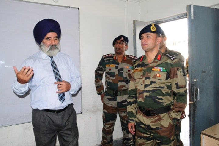 Army Public School-Others classroom inspection