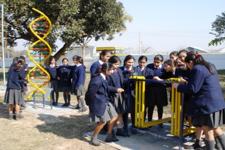 Girls Sports View of School