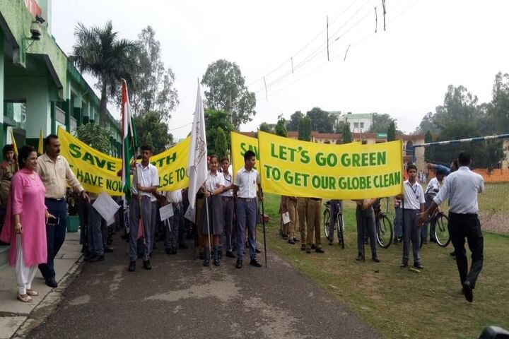 Army Public School-Environment Day