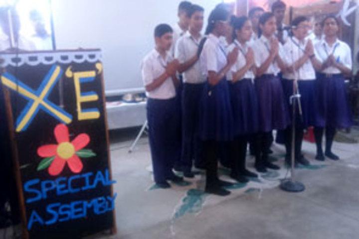 BSF Senior Secondary School-Singing