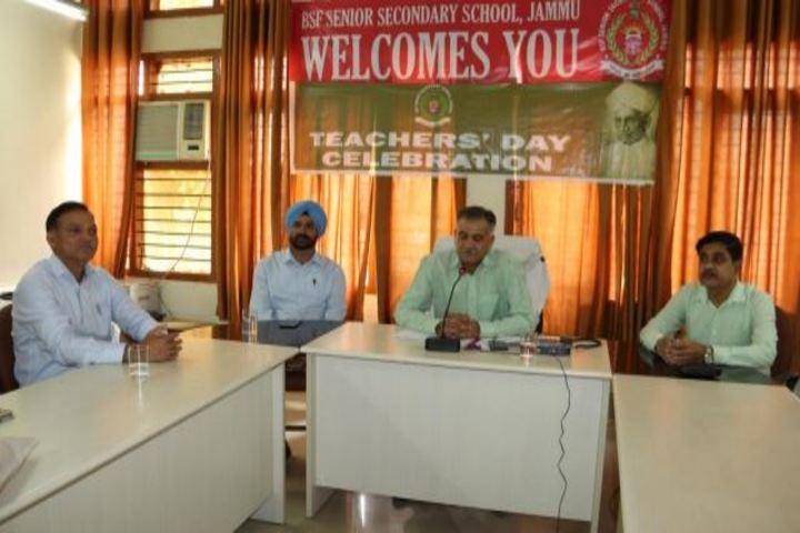 BSF Senior Secondary School-Teachers Day