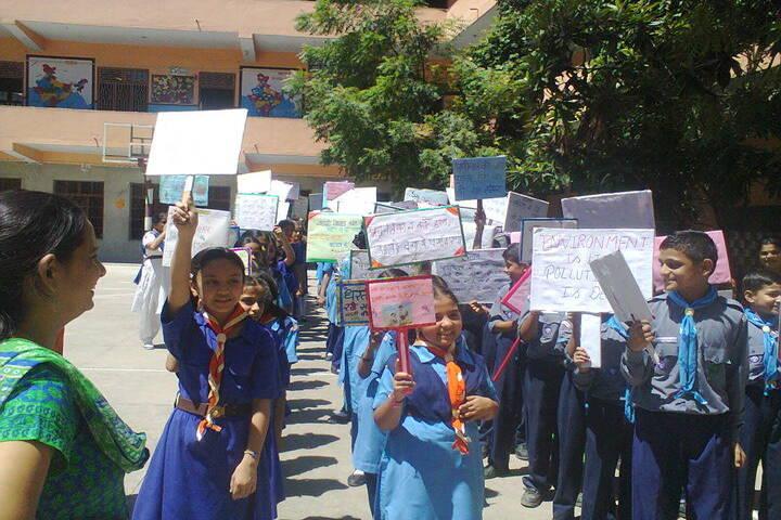 Brahmrishi Bawra Shanti Vidyapeeth School-rally 2