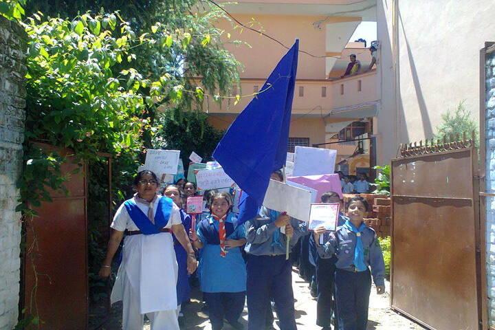Brahmrishi Bawra Shanti Vidyapeeth School-rally 3