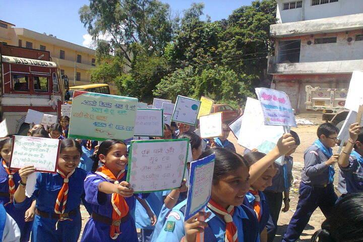 Brahmrishi Bawra Shanti Vidyapeeth School-rally 4